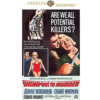 Signpost to Murder [DVD] USA import