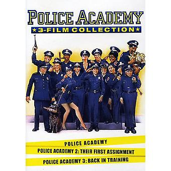 Police Academy 1-3 Collection [DVD] USA import