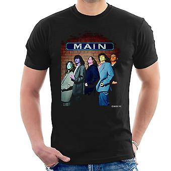 The Zutons Painted Faces Main Men's T-Shirt