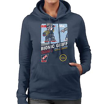 Bionic Griff Back To The Future II Women's Hooded Sweatshirt