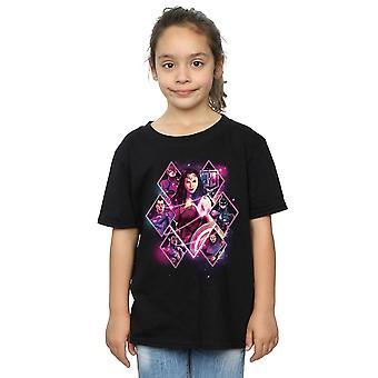 DC Comics meisjes Justice League film Team diamanten T-Shirt