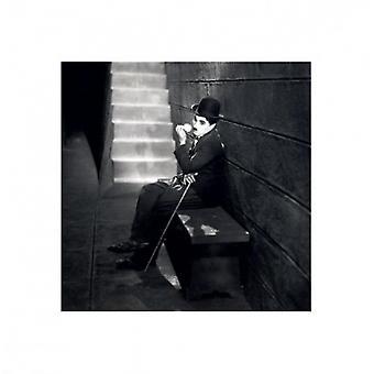 Charlie Chaplin - kaupungin valot juliste Juliste Tulosta