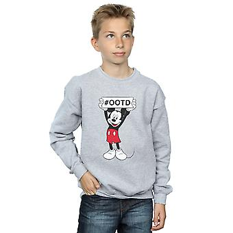 Disney Boys Mickey MouseOutfit Of The Day Sweatshirt