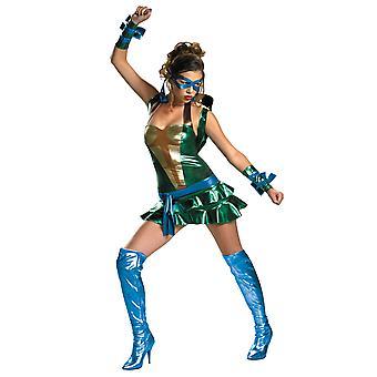 Leonardo Leo TMNT Sexy Teenage Mutant Ninja Turtles super héros Costume de femme