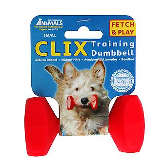 Clix 犬、プレイ検索犬トレーニング S ダンベル トレーニングをフローティング