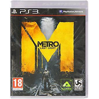 Metro Last Light (PS3) - New