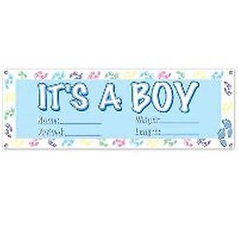 Es ist ein Junge-Banner