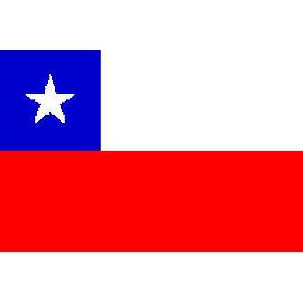 Chili vlag 5 ft x 3 ft met oogjes voor verkeerd-om
