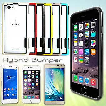 Paraurti per molti modelli di smartphone cover custodia ibrida