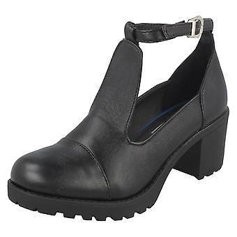 Dziewczyny H3030 buty czerwony znacznik