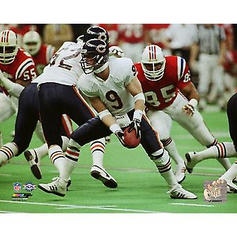 Jim McMahon Super Bowl XX toiminta Photo Print
