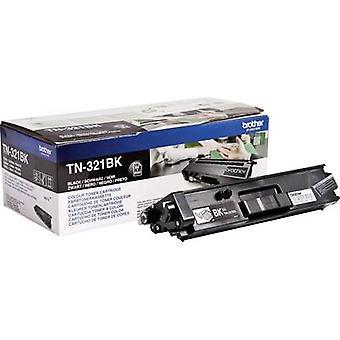 الأخ تونر خرطوشة TN-321BK TN321BK الأسود الأصلي 2500 الجانبين