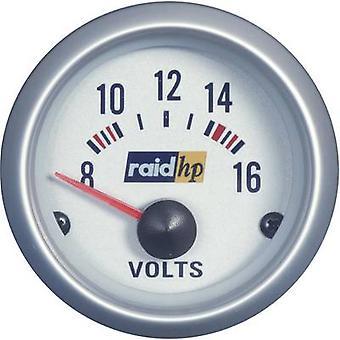 raid hp 660223 Voltmeter 8 - 16V voltage12V