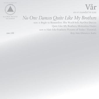 Var - No One Dances Quite Like My Brothers [CD] USA import