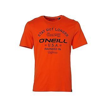 O ' Neill LM estancia fuera más largo-shirt, naranja holandesa