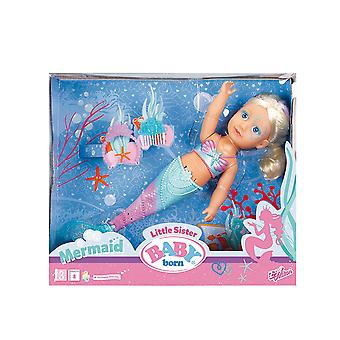 Baby Born Little Sister Mermaid Function Doll