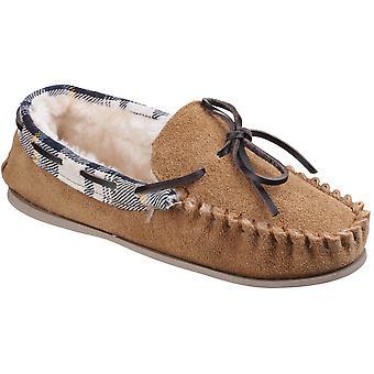 كوتسوولد النسائي/السيدات كيلكيني فو الفراء اصطف نعال حذاء بدون كعب الغزال