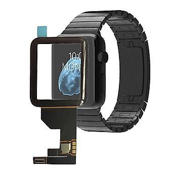 Touch scherm glas voor Apple Watch 38mm reparatie Flex kabel zwart