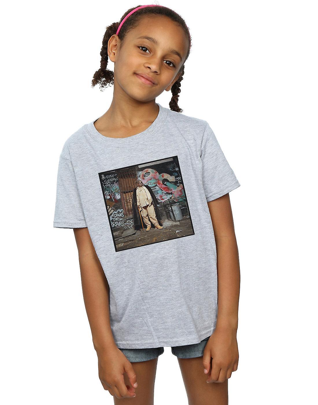 Notorious BIG Girls Fur Coat T-Shirt