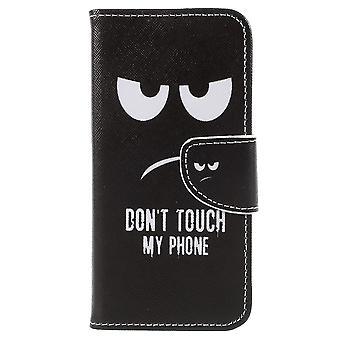 Samsung Galaxy A8 (2018) portafoglio sacchetto faccia arrabbiata