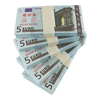Play money-5 euros (100 banknotes)