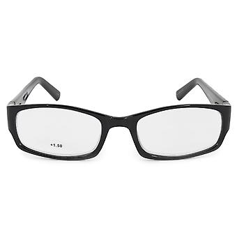 Harley Davidson rectangulaire lecture lunettes HDV3005 BLK 54 + 1.50