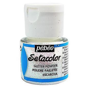 Pebeo Setacolor Hile 10g, väri Diamond