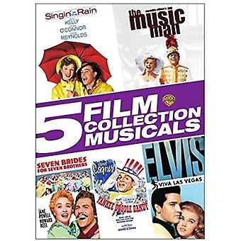 5 film Collection: musikaler [DVD] USA import