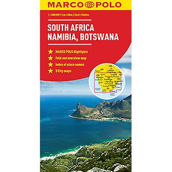 South Africa - Namibia - Botswana Marco Polo Map by Marco Polo - 9783