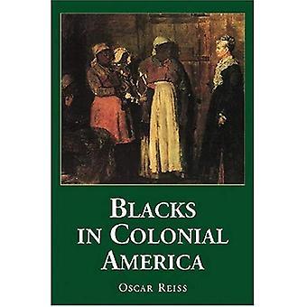 Blacks i kolonitiden