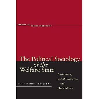 Politisk sosiologi av velferdsstaten: institusjoner, sosiale Cleavages og orientering (studier i sosial ulikhet)