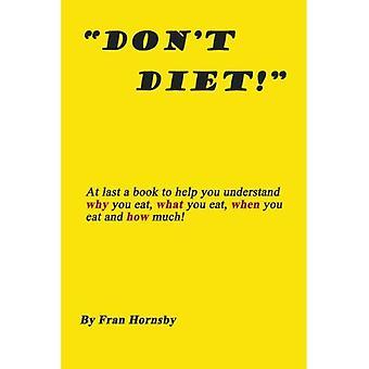 Geen dieet