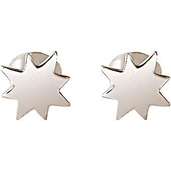 Maritim Nautics dubbar Nordstern Polarstern 925 silver, guldpläterad eller ros