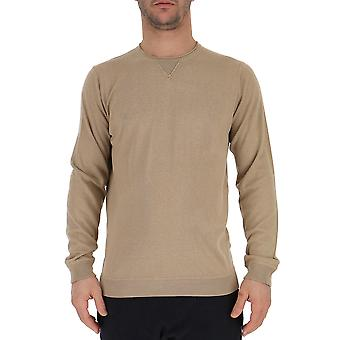 Laneus S200915corda Men's Beige Silk Sweater