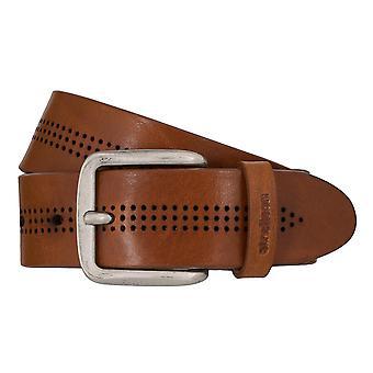 Strellson jeans riem mannen riem koeienhuid leren riem Cognac 7917