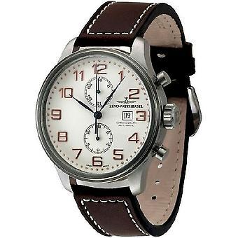 Zeno-Watch miesten katsella OS retro Chronograph Bicompax 8557BVD-F2