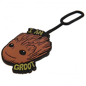 Marvel strážcovia Galaxy Groot batožiny Tag