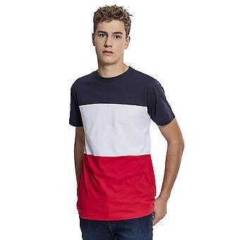 Urban Classics-T-shirt-farve blok til mænd