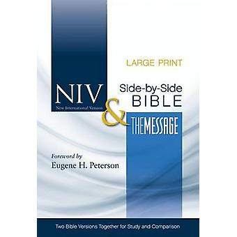 Side-By-Side Bible-PR-NIV/MS-Large Print - Two Bible Versions Together