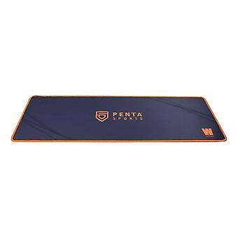 WASDKEYS penta eSports Edition Gaming tapis de souris 800 x 300 x 3 mm-noir/orange