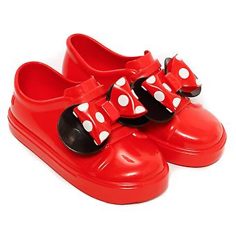 Melissa Shoes Mini Disney Minnie Be Slip On Trainer, Red