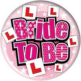 Simon Elvin Giant Bride To Be Badge