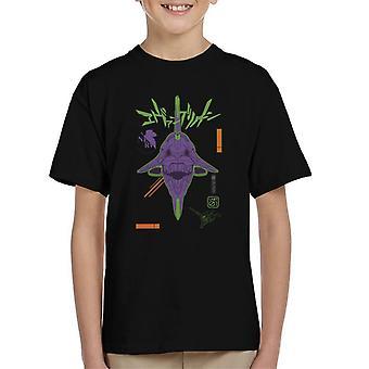 Eva 01 Neon Genesis Evangelion Kid ' s Koszulka