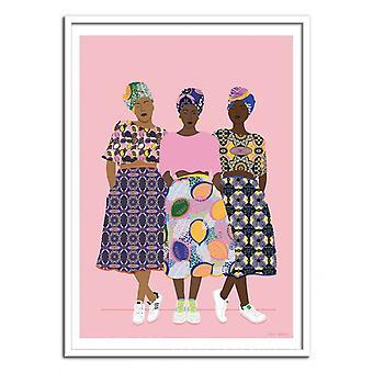 Art-Poster - GRLZ BAND - Celeste Wallaert