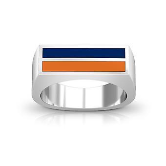 Pepperdine University ring i sterling sølv design af BIXLER