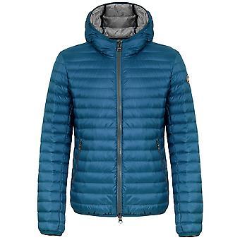 Colmar Wave Blue Lightweight Down Hooded Jacket