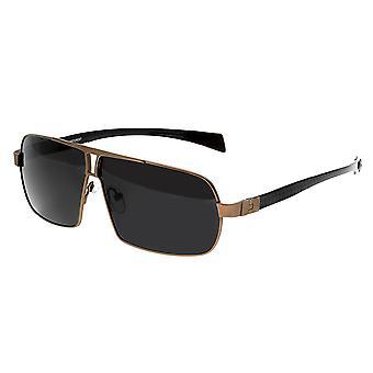 RAS Boogschutter Titanium gepolariseerde zonnebril - bruin/zwart
