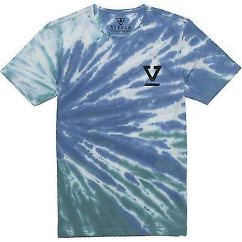Vissla sun burst tie dye boys tee shirt