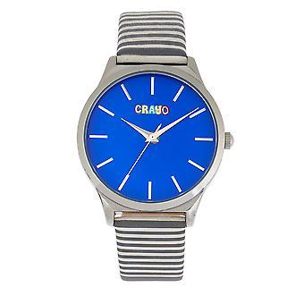 Crayo ombord Unisex Watch-Blå