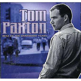 Tom Paxton - Best of the Vanguard Years [CD] USA import